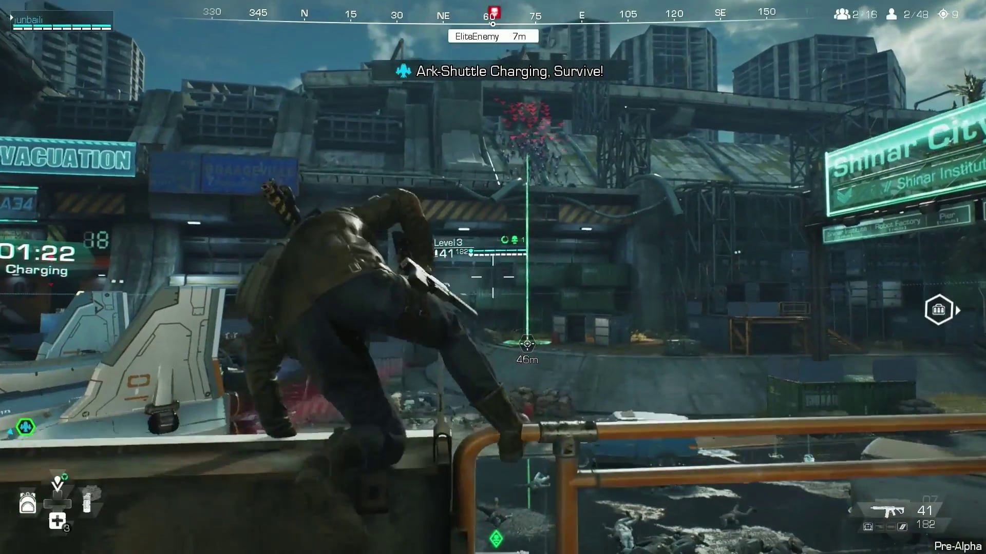 Synced Off Planet Gameplay Action